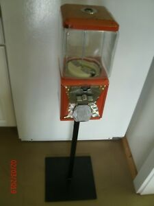 Gumball candy Vending Machine W Stand