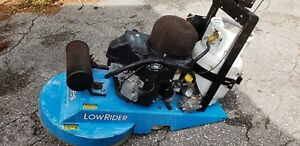 Aztec Lowrider Floor Burnisher Buffer 603cc Propane Engine Extra Low Hours