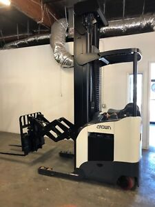 2012 Crown Electric Double Reach Forklift