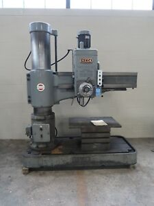 5 Arm X 13 Column Ikeda Model Rm1300 Radial Arm Drill