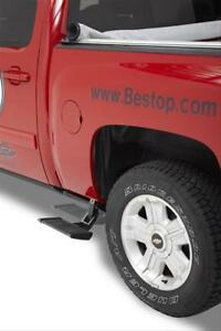 Bestop 75411 15 Truck Step Trekstep Aluminum Black Powdercoated Toyota Each