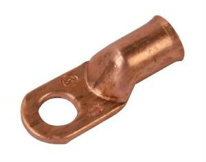 Moroso Battery Cable Terminals Eyelet Style 2 Gauge Copper 3 8 In Size Pair