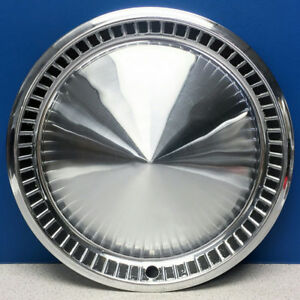 One 1957 Plymouth Belvedere 14 Chrome Hubcap Wheel Cover 1730797 Used