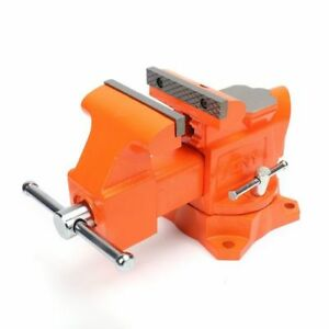 Pony Tools 29040 4in Heavy Duty Workshop Bench Vise Orange