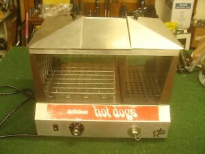 Star Model 35ss Hot Dog Cooker Commercial Steamer Bun Warmer Good Shape