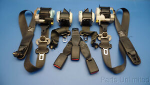 02 05 Honda Civic Oem Front Rear Seat Belts Set Factory Fit Hatchback Si Only