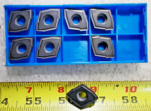 New Ceratip Zcmt 150406 Grade Kw10 Carbide Indexable Drill Insert Lot Of 8 Pcs