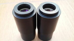 Pairs Of Eyepieces Of A Microscope Or 6 25h Fo Mccombs 200 Ussr Lomo D 40mm