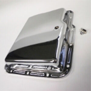 Ambush Performance Bmapanpg Auto Transmission Pan Chevy Powerglide Chrome Stock