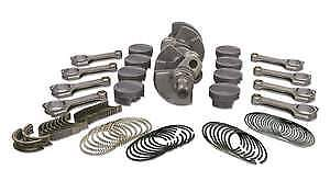 Sb Chevy 350 Rotating Assembly Kit Callies Compstar Crank Rods Je Pistons