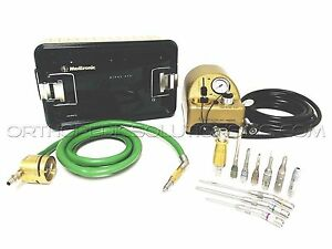 Medtronic Midas Rex Legend Set With Vo3 Pneumatic Drill with Warranty