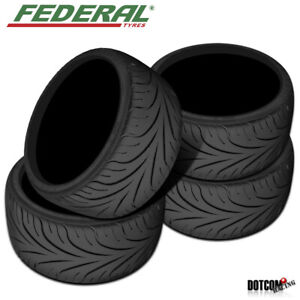 4 X New Federal 595rs R 215 40r17 83 W 140 Aaa Tire