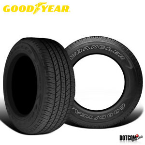 2 X New Goodyear Wrangler Fortitude Ht 265 70 16 112t Premium Highway Tire