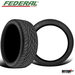 2 X New Federal Ss595 205 40 16 00 All Season Tire