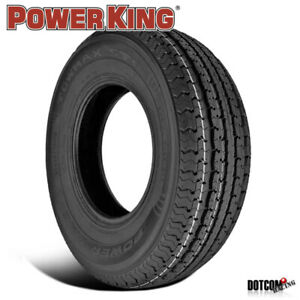 1 X New Power King Towmax Str Ii 205 75 15 107l Special Trailer Service Tire