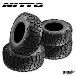 4 X New Nitto Mud Grappler X Terra 35 1250r20 121q Mud Terrain Tire