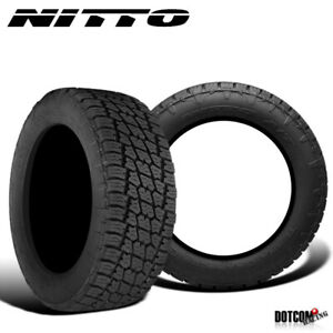 2 X New Nitto Terra Grappler G2 295 70r18 129 126q All Terrain Tire