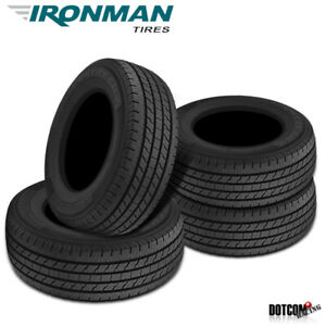 4 X New Ironman All Country Cht 235 80r17 120 117r All Season Tire