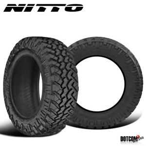 2 X New Nitto Trail Grappler M T 285 70r17 116 113q Off Road Traction Tire