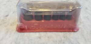Snap On 106imtm 6 Piece 1 4 Drive Sae Impact Socket Set Magnetic Tray Bin Aa