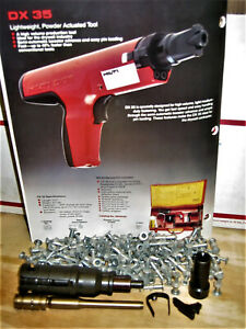 Hilti Dx 35 Pistons Guides Baseplate stop Shear Clip Steel Ball