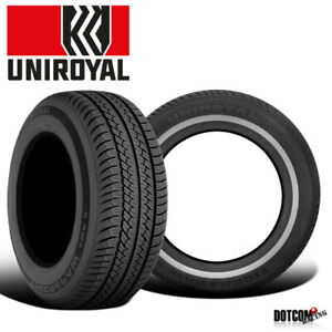2 X New Uniroyal Tiger Paw Awp Ii 215 70 14 96t White Wall Tire