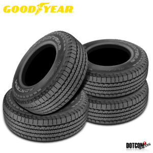 4 X New Goodyear Fortera Hl 245 65r17 105t Tire