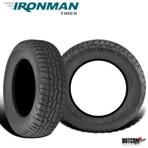 2 X New Ironman All Country A t 235 75r15 109t All Terrain Truck Suv Tire