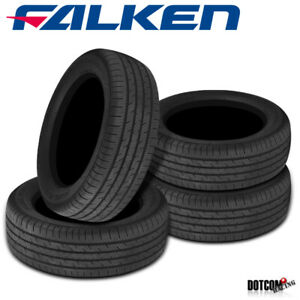 4 X New Falken Sincera Sn250 205 55r16 91h All season Performance Touring Tires