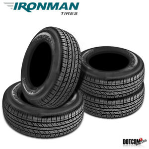 4 X New Ironman Rb Suv 255 70r17 112t All Season Traction Tire
