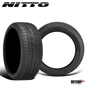 2 X New Nitto Motivo 275 40r20 106y Ultra High Performance Tire