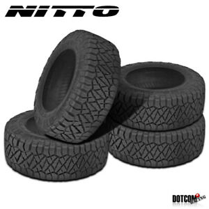 4 X New Nitto Ridge Grappler 315 70r17 121 118q All Terrain Tire