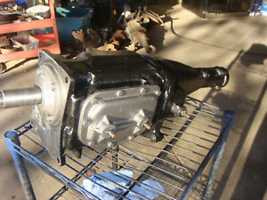 1964 1965 Mustang Borg Warner T10 T 10 4 Speed Transmission Bw T10b 1 Narrow