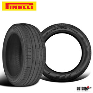 2 X New Pirelli Scorpion Verde All Season 255 60r17 106v Touring Tires