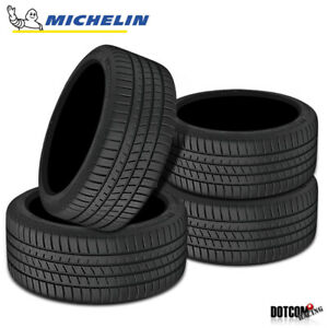 4 X New Michelin Pilot Sport A S 3 255 40 18 95y Ultra High Performance Tire