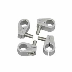 Billet Spec Hose Mounting Clamps Billet Aluminum One 500 Dia Hole Set Of 4
