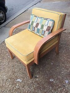 Pair Contemporary Light Gold Color Club Chairs Sofa Chairs