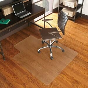 Es Robbins Everlife Chair Mat For Hard Floors 36 X 48 Clear esr131115