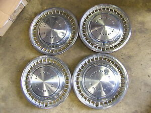 1972 1973 1974 Dodge Charger Hubcaps Wheel Covers 14 Challenger 1975 1976 Dart