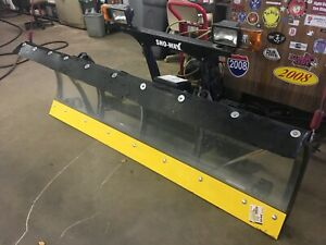 Sno Way Snow Plow 29 Series 7 6 Poly Blade Complete Gm Wireless Control Nice