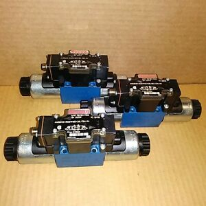 Bosch Rexroth 4we6w61eg24n9dk35l Csa An Directional Solenoid Valve New