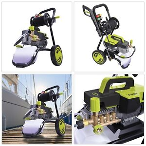 Electric Pressure Washer Heavy Duty Hose Reel Durable Cart Wheel Storage Sturdy