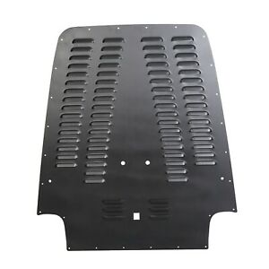 Black Powdercoat Vented Hood Louver For 03 06 Jeep Wrangler Tj Lj