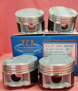 Ycp 81mm High Compression Full Floating Pistons Integra Gsr Type R B18