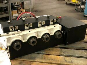 Troyke T5c 4 a Tandem Cnc Rotary Table W 4 Heads Fanuc 4th Axis 5c Collet