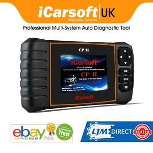 Icarsoft Cp2 Cpii For Peugeot Fault Diagnostic Tool Airbag Ecu Srs Service Obd2