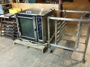 Moffat E35 p263 26 Turbofan 35 Electric Convection Oven With Stand 208v 3 Phase