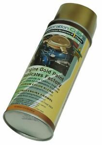 49 76 Cadillac 48 60 Olds Engine Motor Gold High Temp Enamel Spray Paint 1 Can