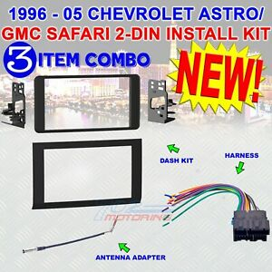 1996 2005 Chevrolet Astro Gmc Safari Installation Kit 95 3005 Std Harness