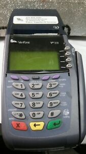 Verifone Vx 510 Le Credit Card Terminal With Extra Paper
